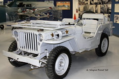 1940's Willys MB Navy Jeep (Rear Admiral McLauglin)