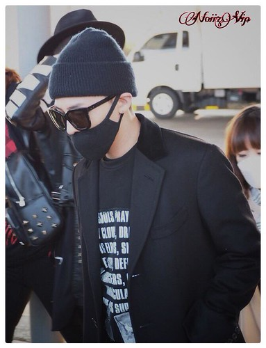 Big Bang - Incheon Airport - 10apr2015 - G-Dragon - NoiizVip - 02
