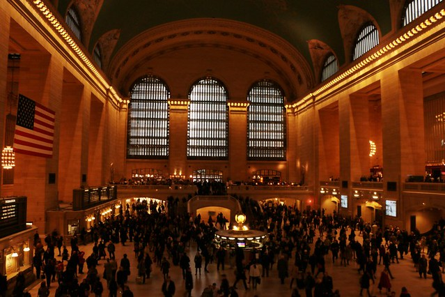 La Grand Central Station, stazione centrale di NYC