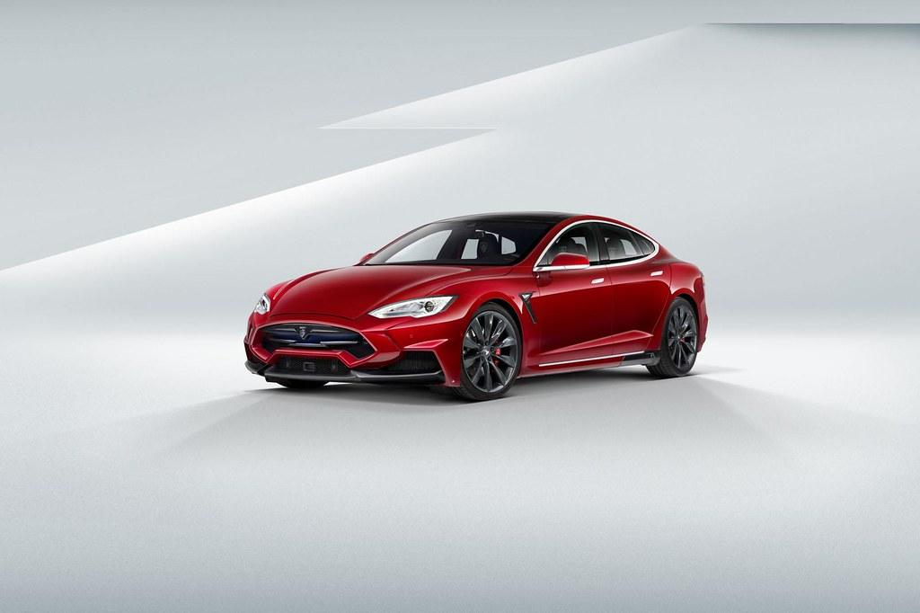 LARTE Design reveals Tesla at Top Marques Monaco