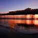 Brighton Sunset by Puckpics