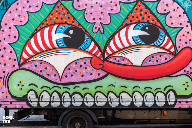 Sweet Toof & Paul Insect Box Truck