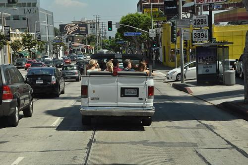 los Angeles Verkehr #holzvonhier-Energie