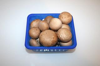 03 - Zutat Chamignons / Ingredient mushrooms