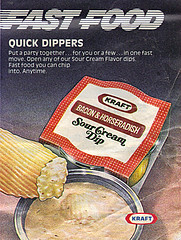 KRAFT :: FAST FOOD - 'QUICK DIPPERS' (( 1979 ))