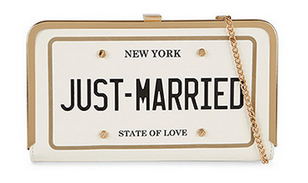 aldo just married bag