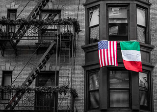 Little Italy Flags, New York