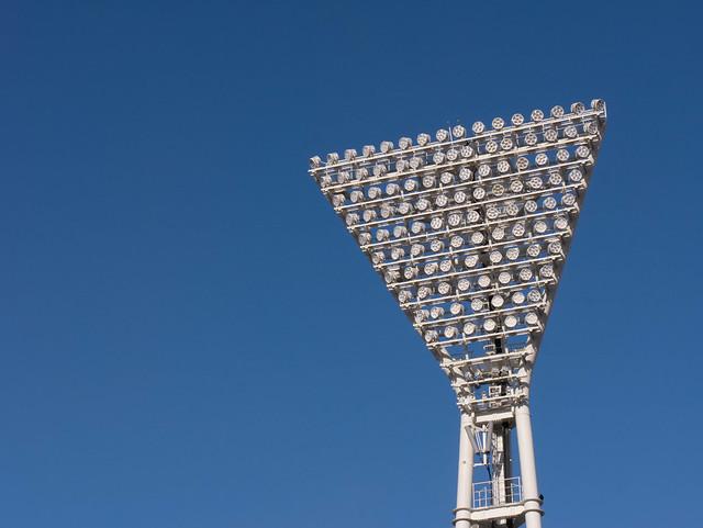 Yokohama Stadium Lights