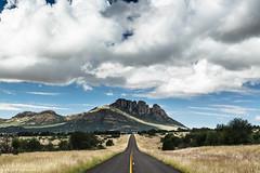 Straight & Narrow - Davis Mountains Preserve, Texas