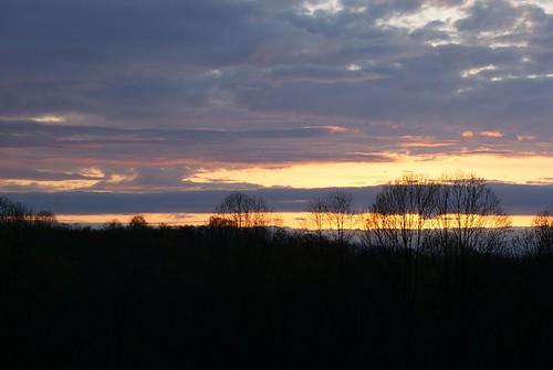 cambridge sunset ohio sky orange nature clouds evening spring dusk sony april alpha nightfall 2015 a230 guernseycounty ohiostatepark ruralohio saltforklodge