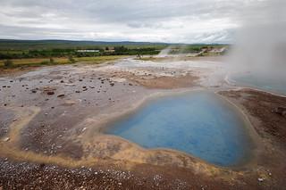 Thermalquelle Blesi, Geothermalgebiet Haukadalur | Roland Krinner