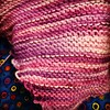 There is no such thing as too much @magpiefibers Swanky Sock. This is a one of a kind skien in lovely pinks & purples for spring.  The OAK skeins are special ones to cherish while you knit them into works of art. #magpiefiners #SwankySock #knothouseyarns