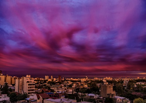 city sunset argentina clouds buildings atardecer edificios buenosaires ciudad nubes