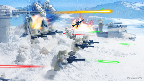 LEGO MICROFIGHTERS : Battle of Hoth ! (6/9)