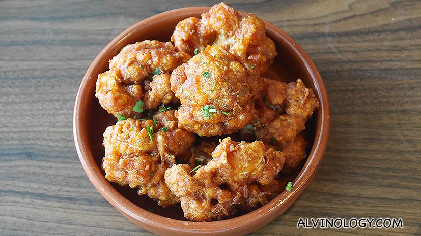 Fried Cauliflowers - S$4.00