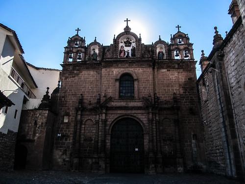 Cusco: la Iglesia de la Sagrada Familia