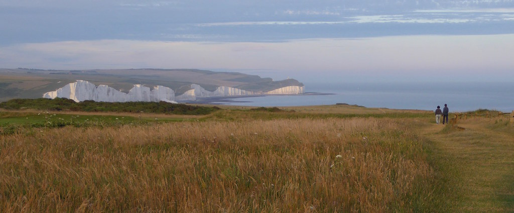 The Seven Sisters from Seaford Head Berwick to Seaford walk