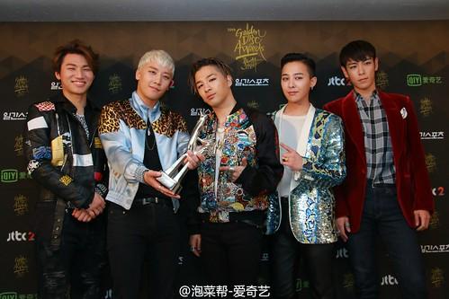 Big Bang - Golden Disk Awards - Backstage - 20jan2016 - 泡菜帮-爱奇艺 - 12