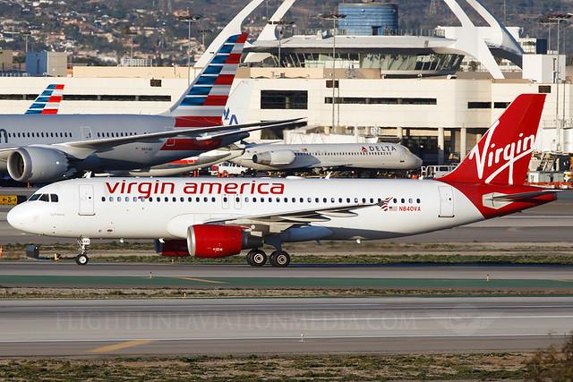 Virgin America Airbus A320-214 N840VA