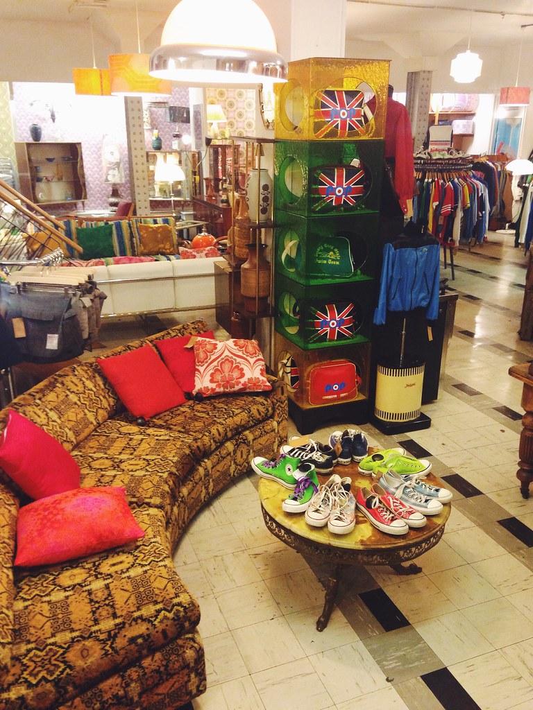 pop boutique Manchester vintage shop