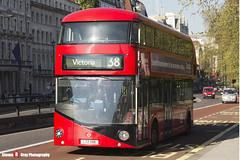 Wrightbus NBFL - LTZ 1186 - LT186 - Arriva - Victoria 38 - London - 150423 - Steven Gray - IMG_0200
