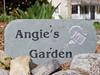 My new garden sign