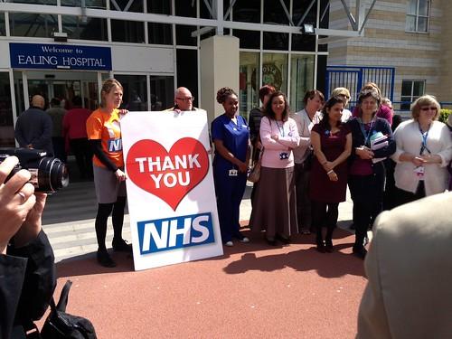 Thank you NHS - Ealing Hospital