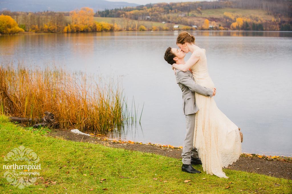 Round Lake BC Wedding