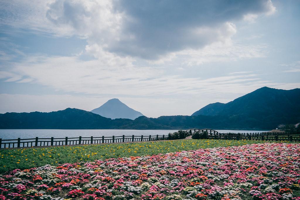 鹿兒島。指宿。池田湖