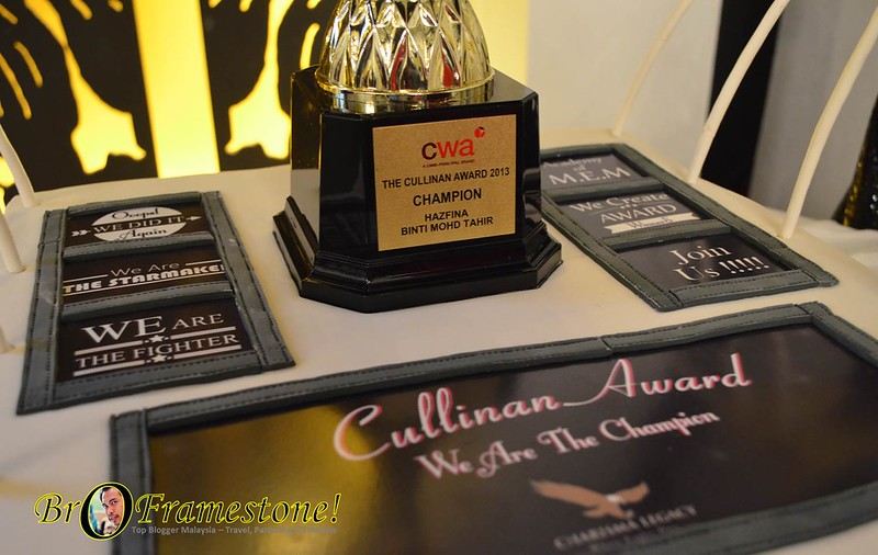 Charisma Legacy No. 1 Cullinan Award CWA