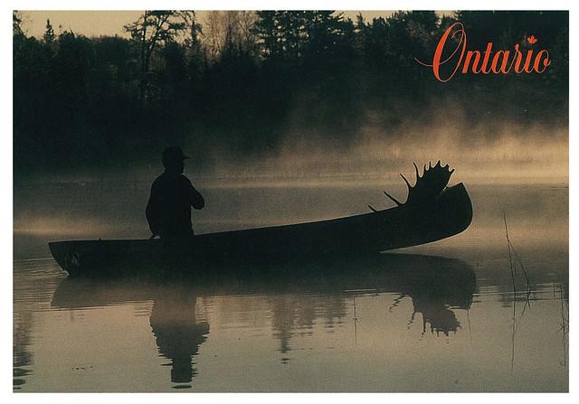 Ontario - Algonquin park - canoe