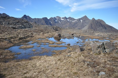 Northern end of Cuillin ridge