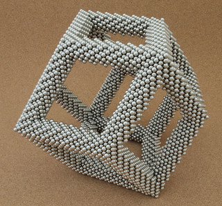 Rhombic Dodecahedron Frame