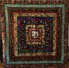 Quilt Around the World, 93x93 inch quilt,2015