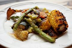 20150411-30-Grilled vegetables at Frank Restaurant…