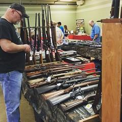 When the rat rod show falls thru....we go to a gun show @rambob53