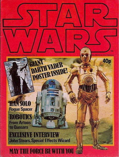Star Wars UK Poster Magazine #3 (1978) 1