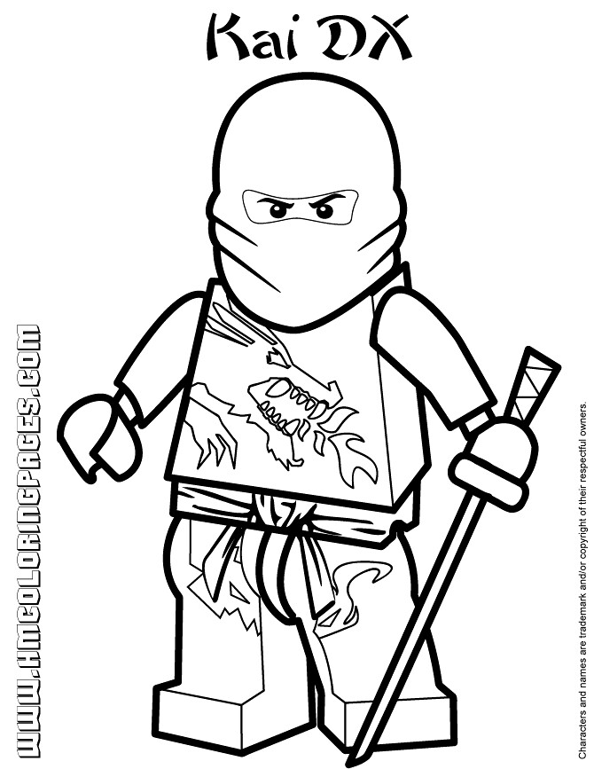 Lego Ninjago Printable Coloring Pages Via Free Coloring Pa Flickr