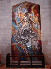 Mary portrait from USA in Church of the Annunciation