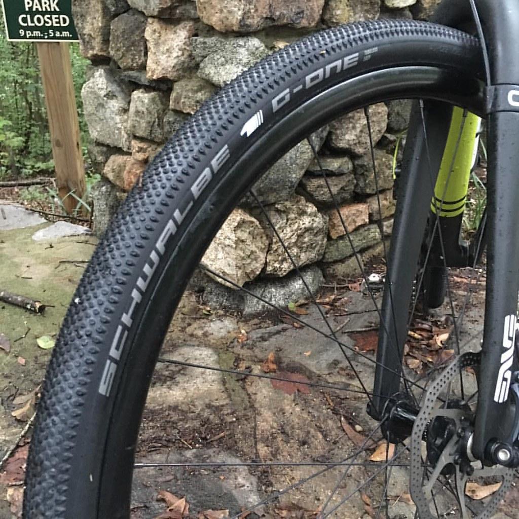 Schwalbe G-One Tubeless Gravel Tire gravel bike versus road bike