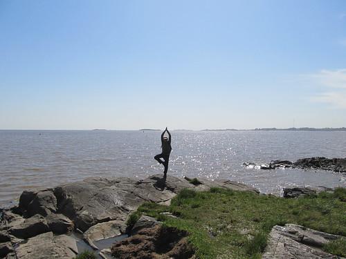 Colonia del Sacramento: en bord d'estuaire, Mister J reste zen ;)