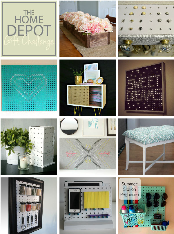 Peg board projects from other bloggers