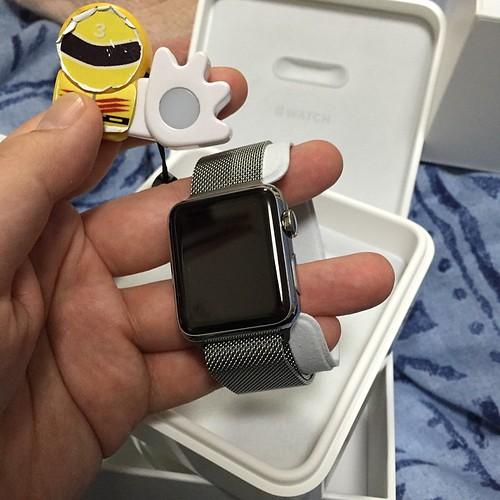 Apple Watch、心地よい重量感。