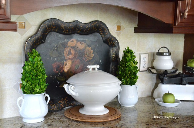 Vintage Ironstone/Kitchen Vignette-Housepitality Designs