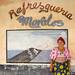 Panama, San Blas Islands, Mamitupu, Kuna Tribe Woman In Front Of A Pepsi Advertising by Eric Lafforgue