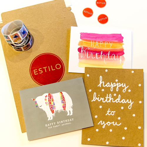 Estilio Subscription Card Service