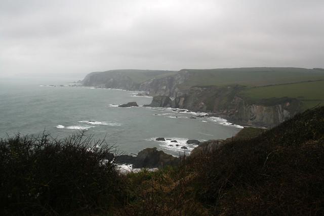 View west near Challaborough