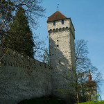 Medieval Towers and Fortification - Lucerne, Switzerland