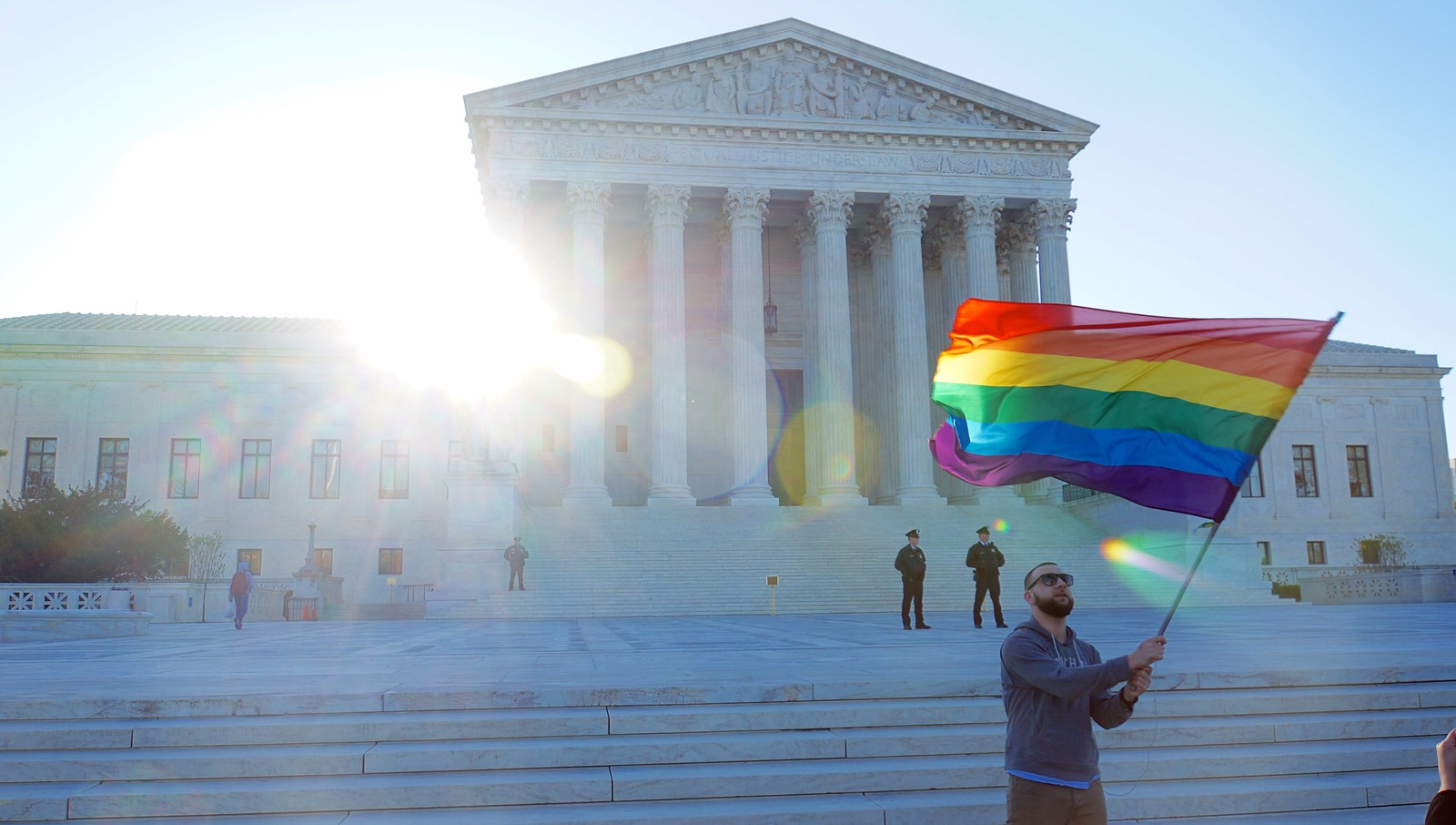 A few photos taken on the way to the future #SCOTUS #LoveMustWin #WalkingMeeting