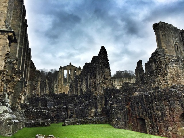 Abadía de Rievaulx (Yorkshire, Inglaterra)